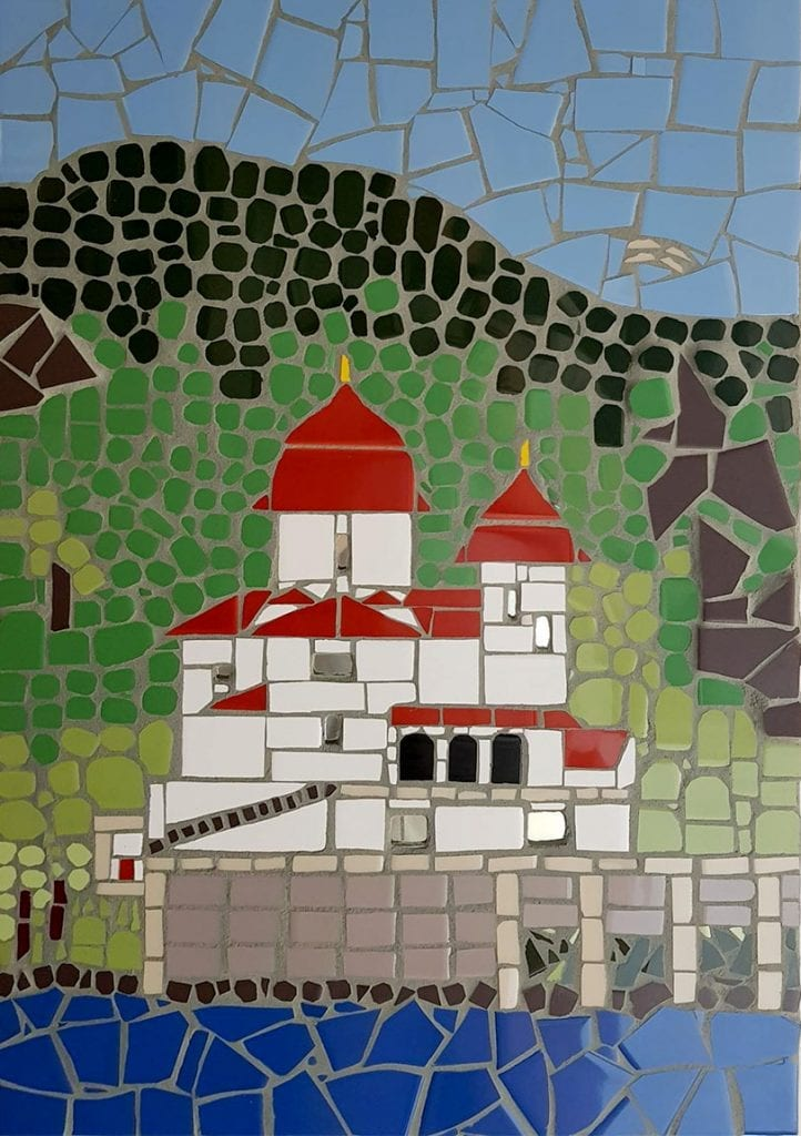 Mosaic House on the Danube by Peter Charlish