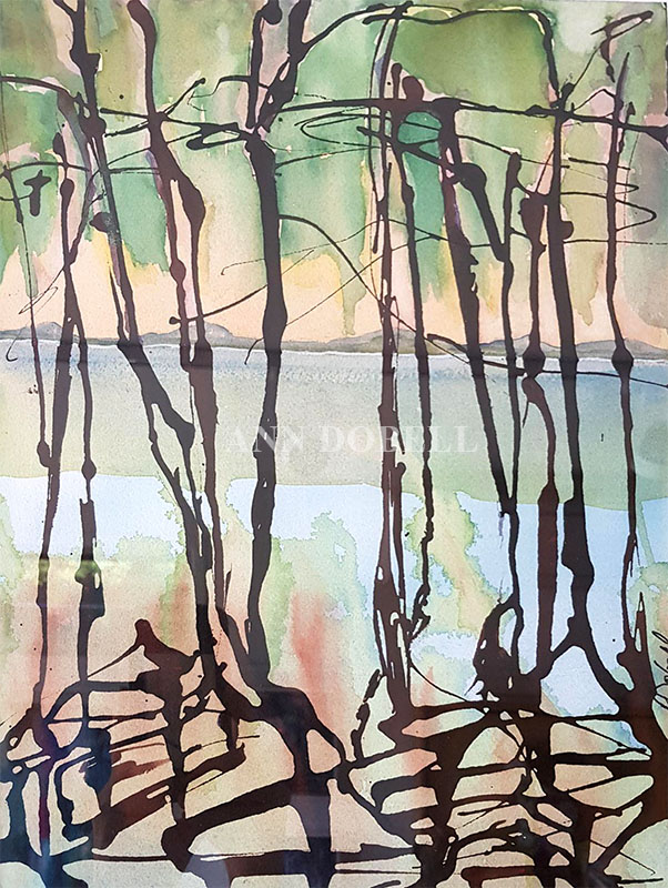 Mangroves No3 by Ann Dobell