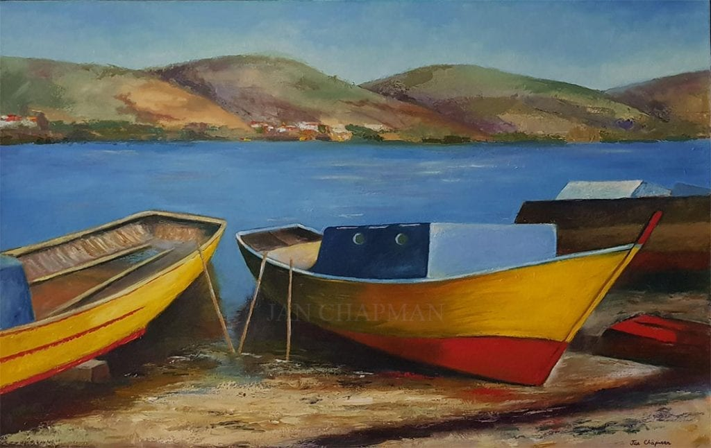 Boats by Jan Chapman