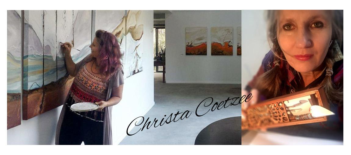 artist Christa Coetzee