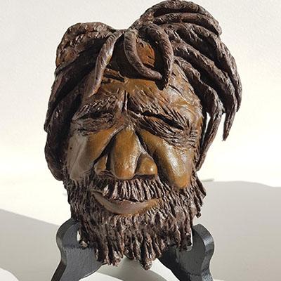 Clay Aboriginal artwork by Di Joyner