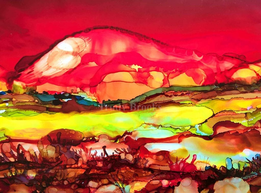 Red Rock Valley by Trudy Brooks