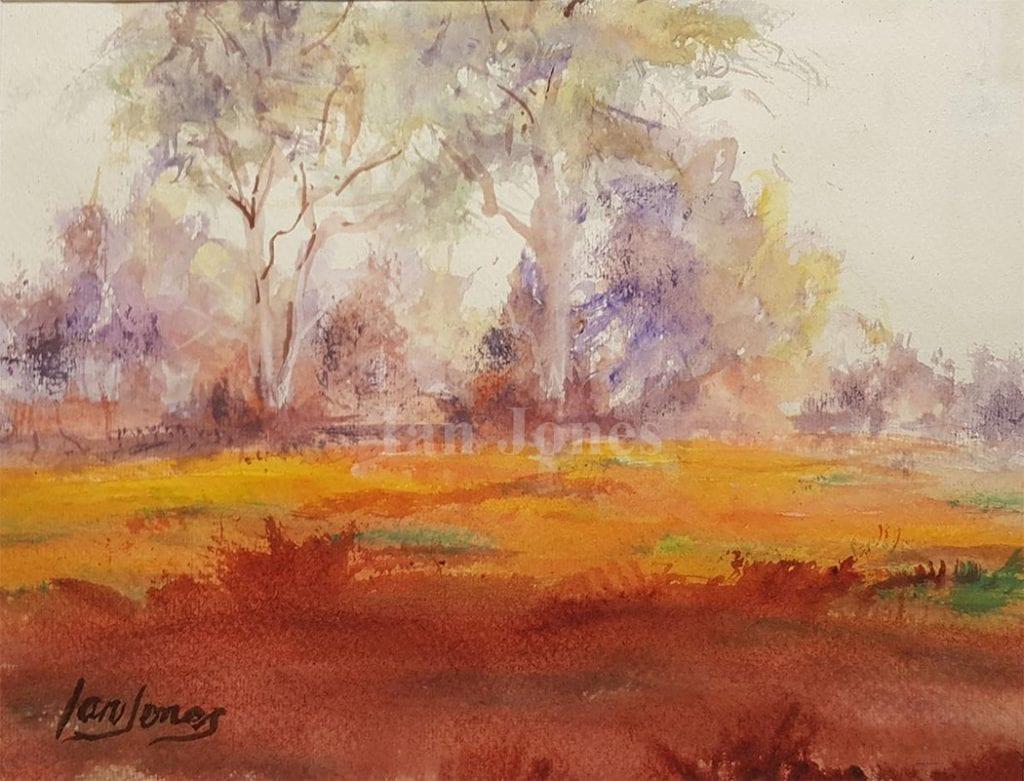 Scrubby Patch by Ian Jones