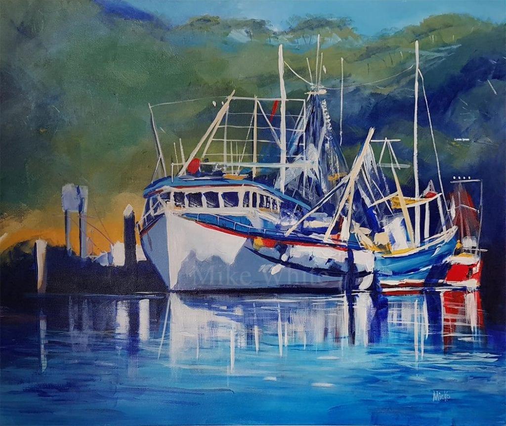 Wharf by Mike White